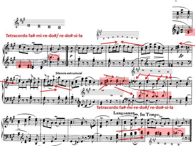 Schumann 24 tetracordos