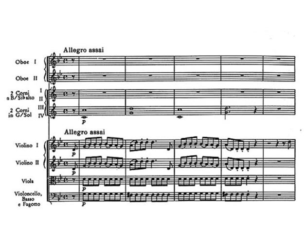 I Plantilla orquestal partitura