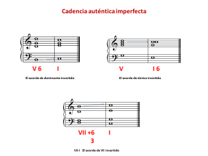 Cadencias imperfectas