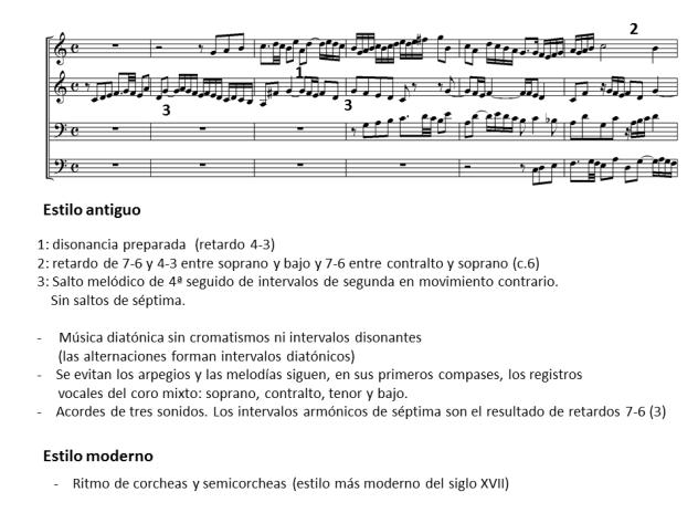 01b estilo antiguo en la partitura